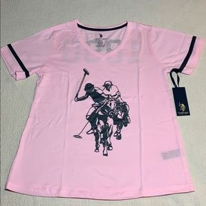 NEW U.S. Polo Assn. 1890 Graphic Tee Shirt ONLY
